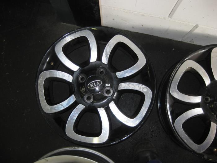 Wheel 5291007700 Alloy De Graaf Autodemontage Bv