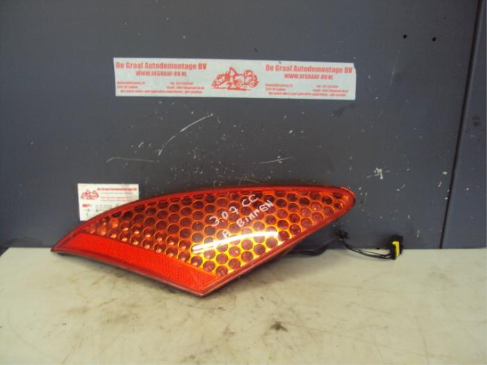 Taillight, left from a Peugeot 307 2004