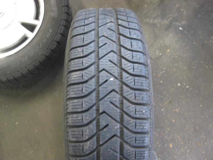 Used Honda Civic Set Of Wheels Snc560a Alloy De Graaf