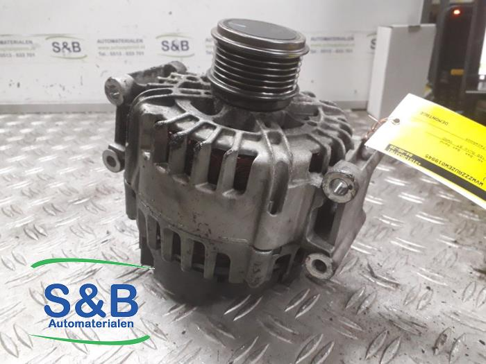 Dynamo from a Volkswagen Golf VII (AUA) 2.0 GTI 16V Performance Package 2013