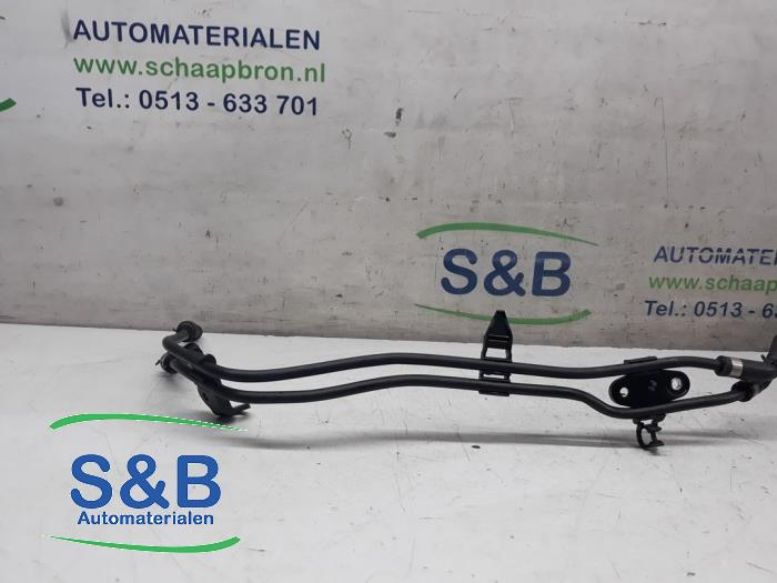 Radiator hose from a Volkswagen Golf VII (AUA) 2.0 TDI 150 16V 2017