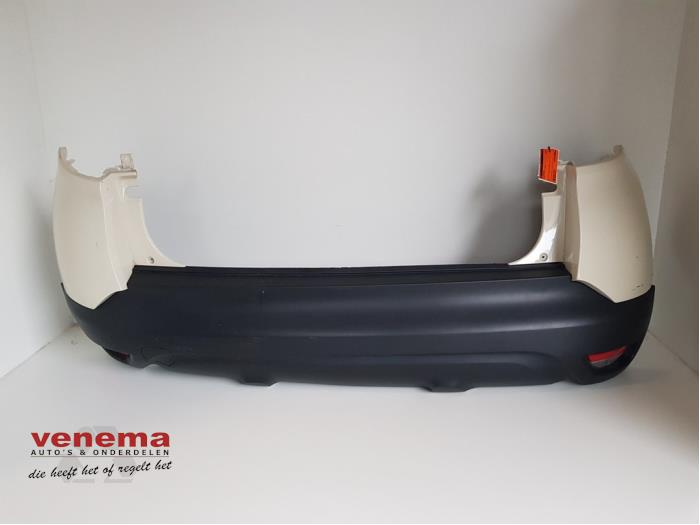 Rear bumper from a Renault Captur (2R) 0.9 Energy TCE 12V 2015