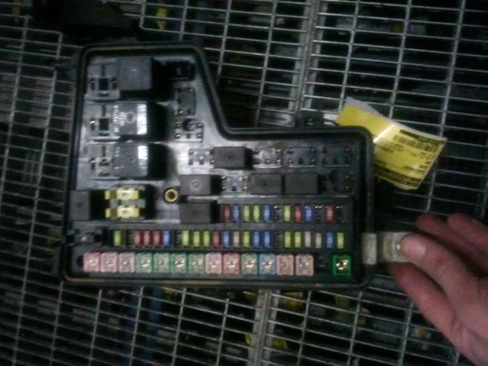 Used Dodge Ram Fuse Box : Used dodge ram tdi v pick up fuse box