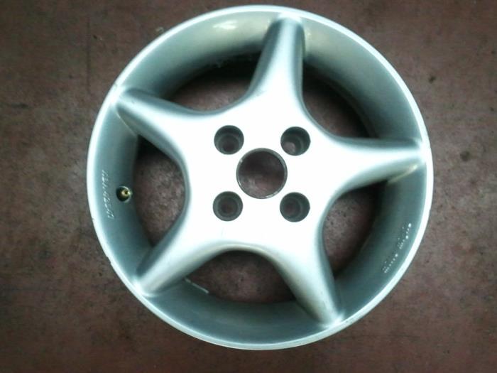 Used Fiat Cinquecento 09 Ie S Wheel Kba42847 Alloy