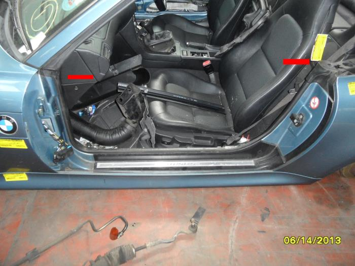 Used Bmw Z3 E36 7 1 9 Door Seal 2 Door Left