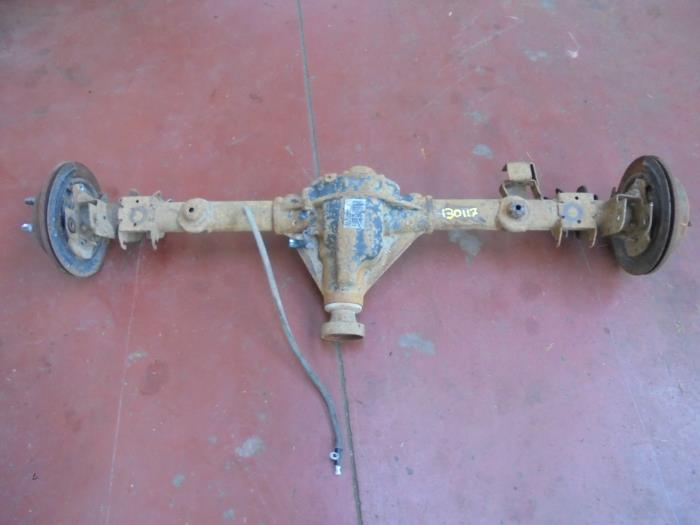 Used Jeep Wrangler Unlimited (JK) 2 8 CRD 4x4 4x4 rear axle
