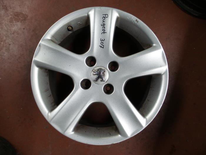 Used Peugeot 307 3acd 16 16v Wheel 11071 Alloy