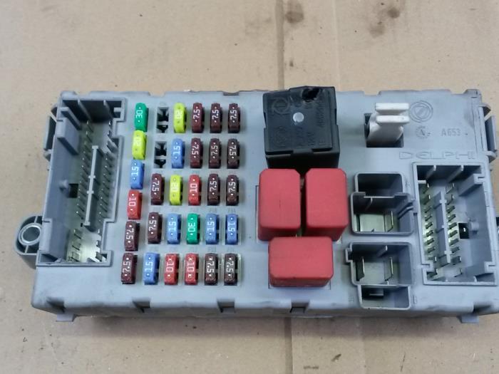 Used Fiat Ducato 250 30 D 160 Multijet Power Fuse Box