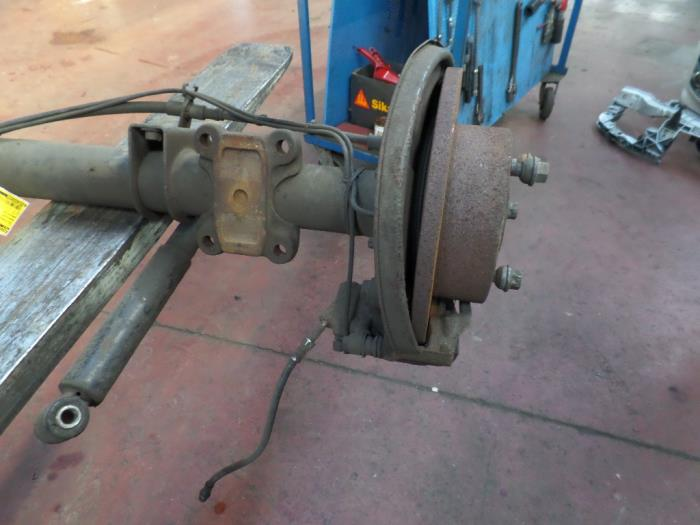Used Mercedes Sprinter 3 5t (906 73) 316 CDI 16V Rear differential