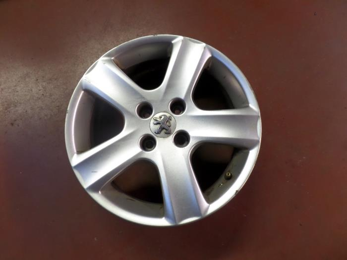 Used Peugeot 307 Cc 3b 16 16v Set Of Wheels Ariane