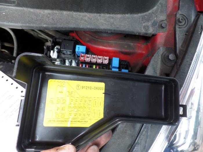 hyundai getz fuse box location used hyundai i10 fuse box - 912100x000 - autorecycling n ... hyundai i10 fuse box location
