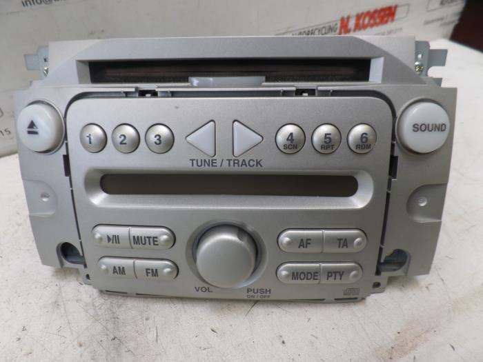 used daihatsu sirion radio cd player 86120b1020. Black Bedroom Furniture Sets. Home Design Ideas