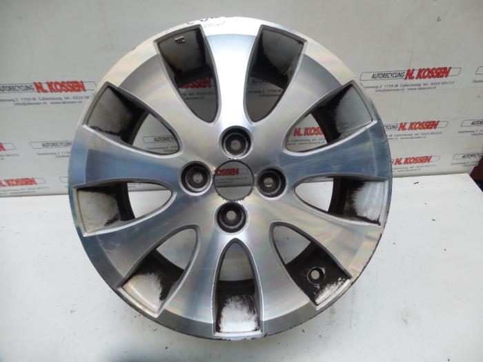 Used Daihatsu Materia Wheel Dm3560 Alloy Autorecycling N
