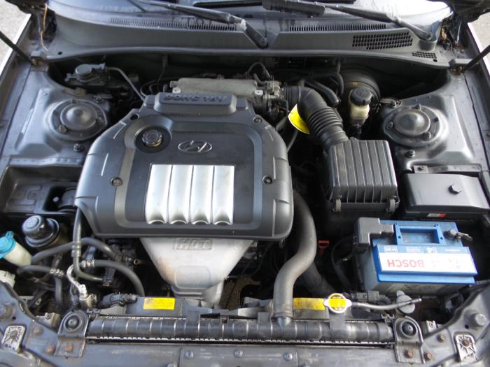 Engine From A Hyundai Sonata Used