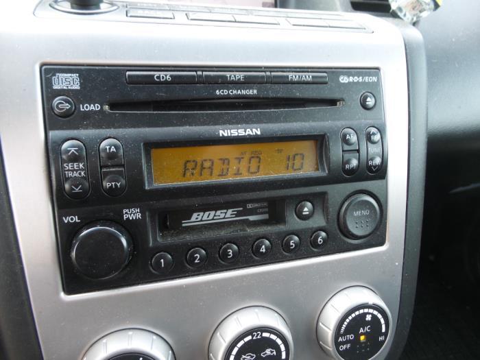Used Nissan Murano 35 V6 24v 4x4 Radio Cd Player 28188cc000 Rhproxyparts: 2006 Nissan Murano Radio At Gmaili.net