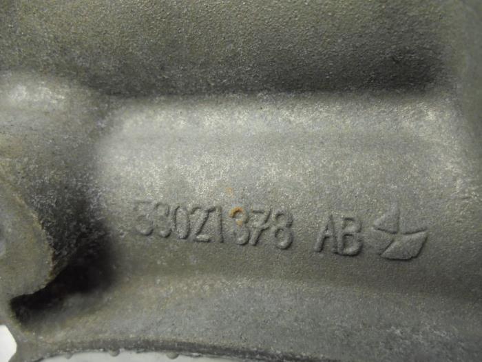 Viscous cooling fan from a Dodge Ram 5.7 V8 Hemi 2500 4x2 2008