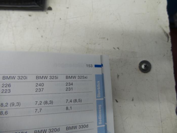 Used Bmw 3 Serie E464 318i 16v Instruction Booklet
