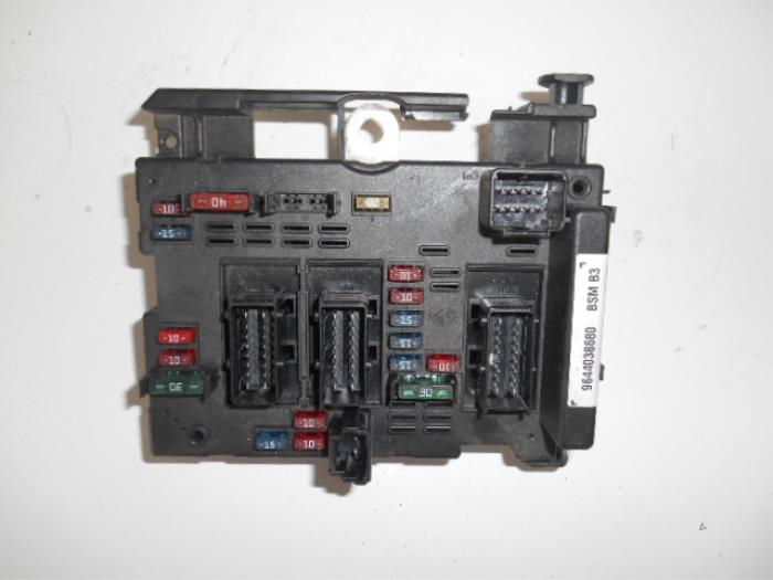 Peugeot 206 Y Reg Fuse Box Wiring Diagrams Dock