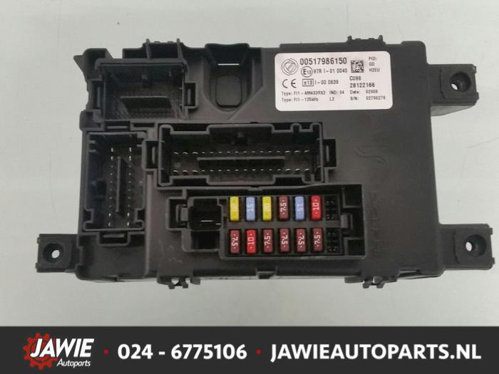 Used Fiat Grande Punto (199) 1.2 Fuse box - 00517986150 ... Fiat Punto Mk Fuse Box on m3 fuse box, m2 fuse box, mk5 fuse box,