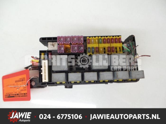 0 used daewoo kalos (sf48) 1 4 fuse box gerrits lijbers autoparts,Fuse Box Daewoo Kalos