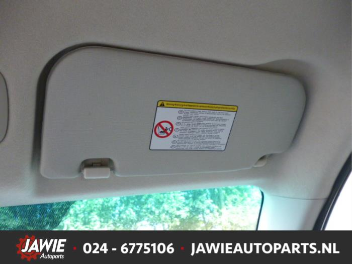 Used Hyundai i10 (F5) 1.2i 16V Sun visor - Jawie autoparts ... d5c0fc04152