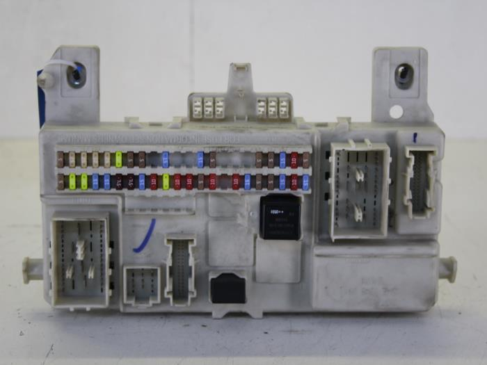 fuse box from a volvo s40 (ms) 1 8 16v 2006