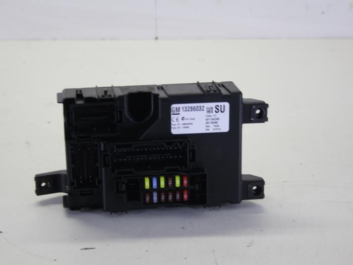 fuse box from a opel corsa d 1 2 16v 2008