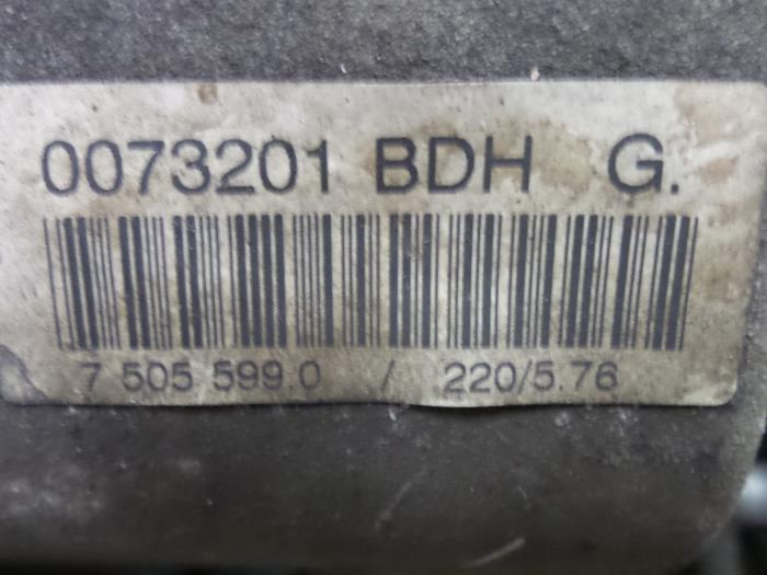 Gearbox from a BMW 3 serie (E46/4) 318i 16V 2002