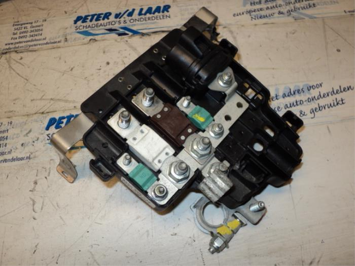 fuse box from a renault trafic (used)
