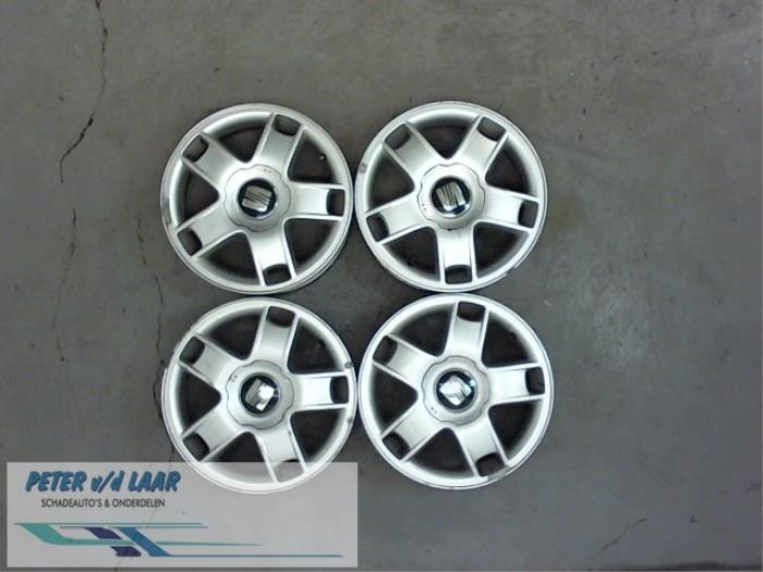 Used Seat Leon 1m1 18 20v Wheel 1k0601025b Alloy