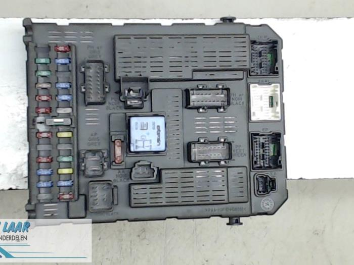 fuse box in fiat ulysse