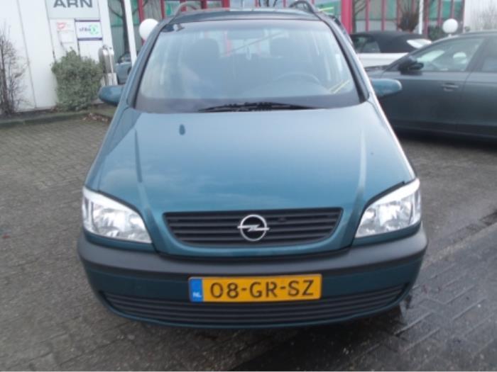 Used Opel Zafira F75 16 16v Radiator 09202503 Peter Van De