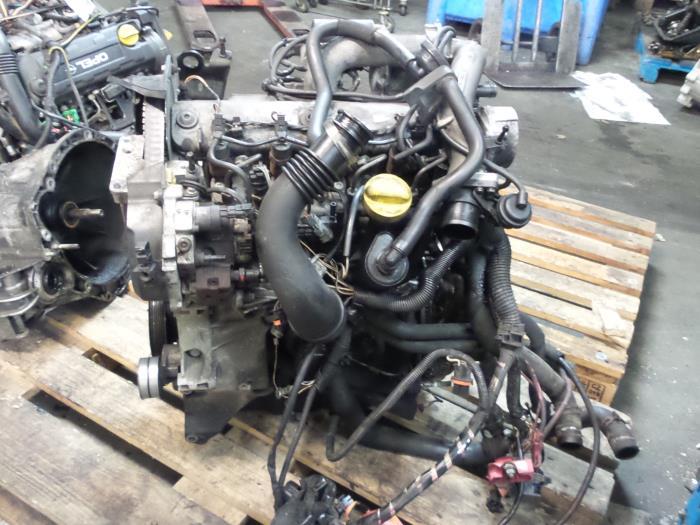 Usage Renault Megane Ii Grandtour Km 1 9 Dci 120 Moteur