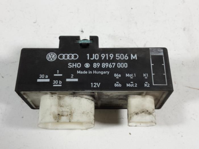 Used Seat Ibiza Iii 6l1 1 4 16v 75 Cooling Fin Relay 1j0919506m