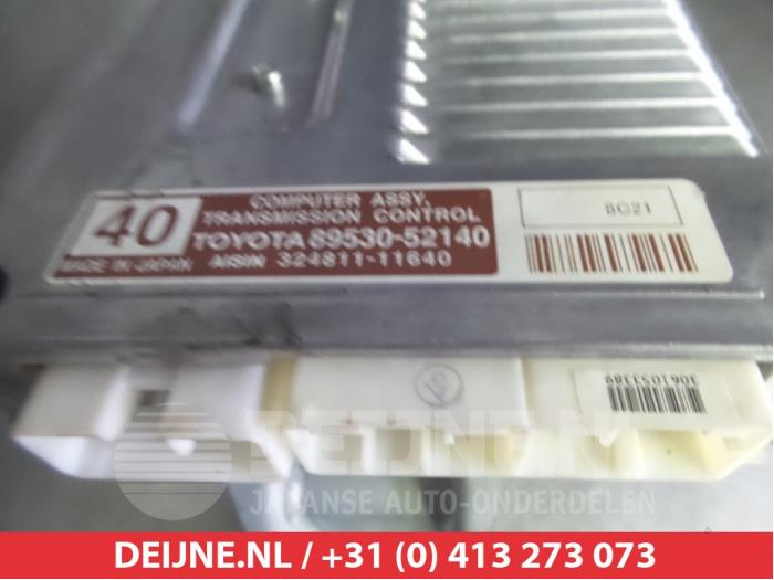 Used Toyota Yaris Automatic gearbox computer - 8953052140 2SZFE - V