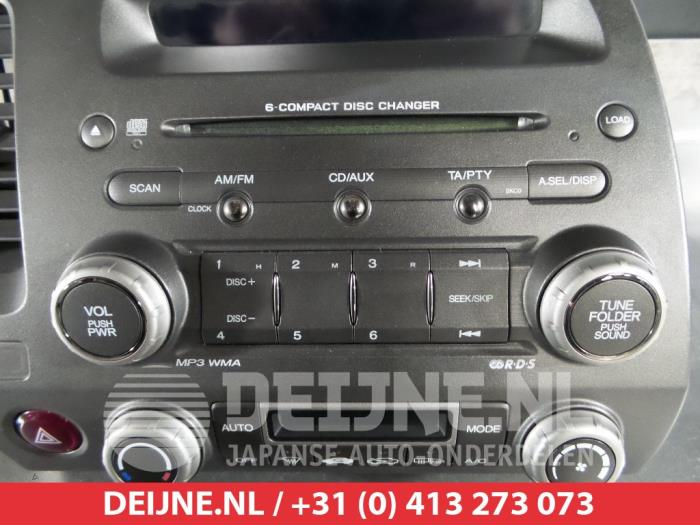 Radio From A Honda Civic Fa Fd 1 3 Hybrid 2017
