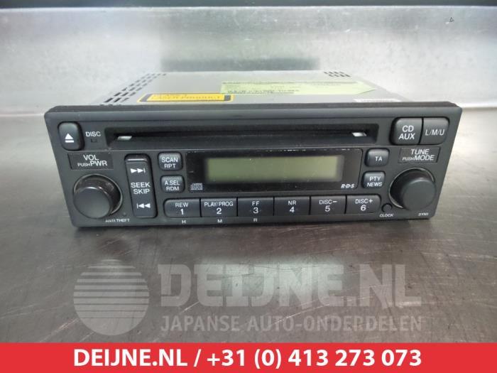 Used Honda Crv Rd678 22 Ctdi 16v Radio 39101s9ae210m1 V Rhproxyparts: 2005 Honda Cr V Radio At Gmaili.net