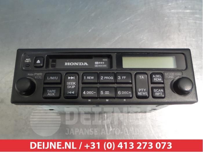 2001 Honda Accord Radio Code >> Used Honda Accord Ch 1 8i 16v S Ls Radio 39100s1ae000