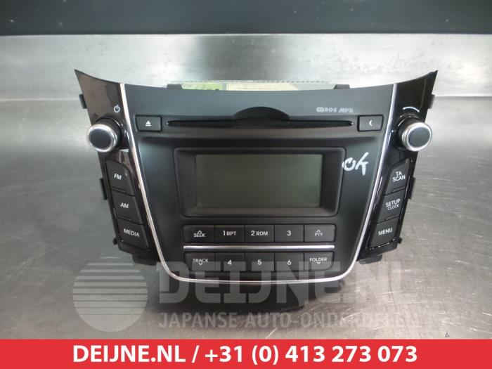 used hyundai i30 gdhb5 1 4 16v radio 96170a6200gu v. Black Bedroom Furniture Sets. Home Design Ideas
