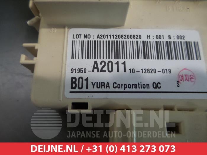 used kia cee d sportswagon jdc5 1 6 gdi 16v fuse box fuse box from a kia cee d sportswagon jdc5 1 6 gdi 16v 2012
