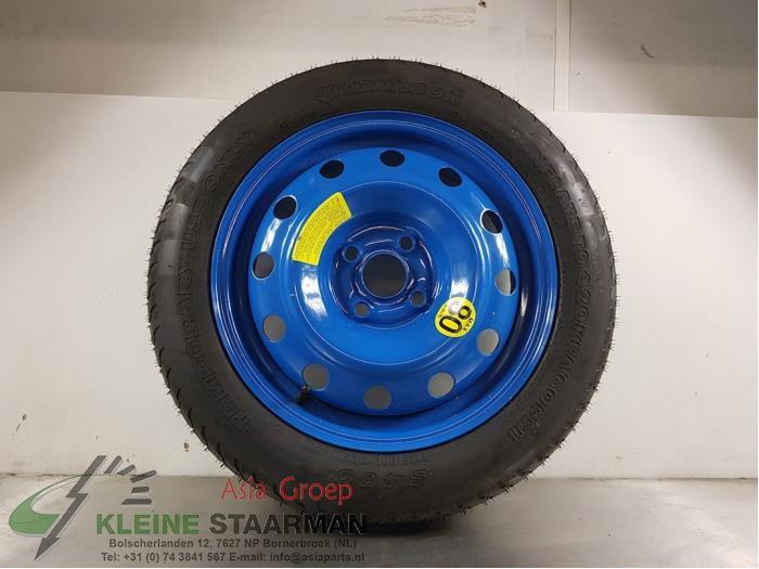 Spare wheel from a Kia Rio III (UB) 1.4 CVVT 16V 2013