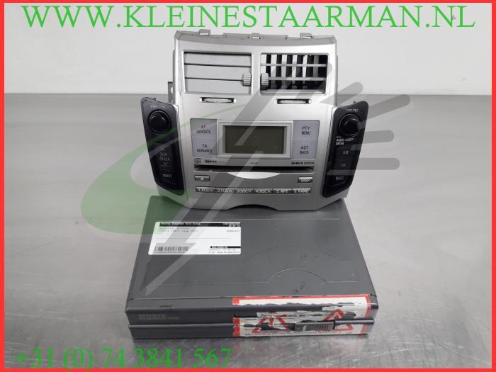 toyota yaris 2007 navigation system