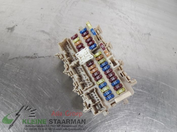 fuse box from a nissan / datsun qashqai (j11) 1 2 12v dig-t