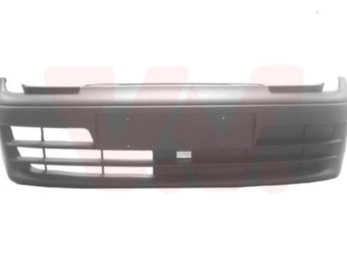 Front bumper from a Fiat Seicento 2001