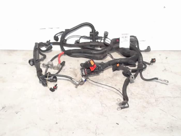 wiring harness from a opel corsa d 1 4 16v twinport 2010