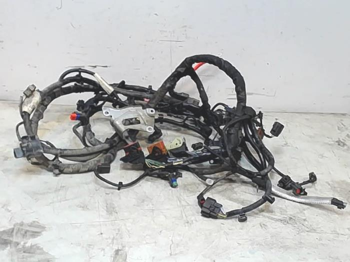 wiring harness from a volvo v40 (used)