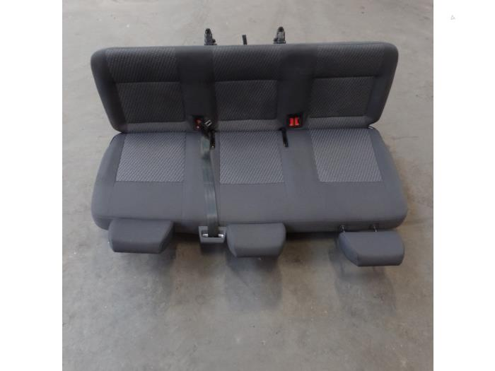 Used Volkswagen Transporter T5 2.0 TDI DRF Rear bench seat ... on
