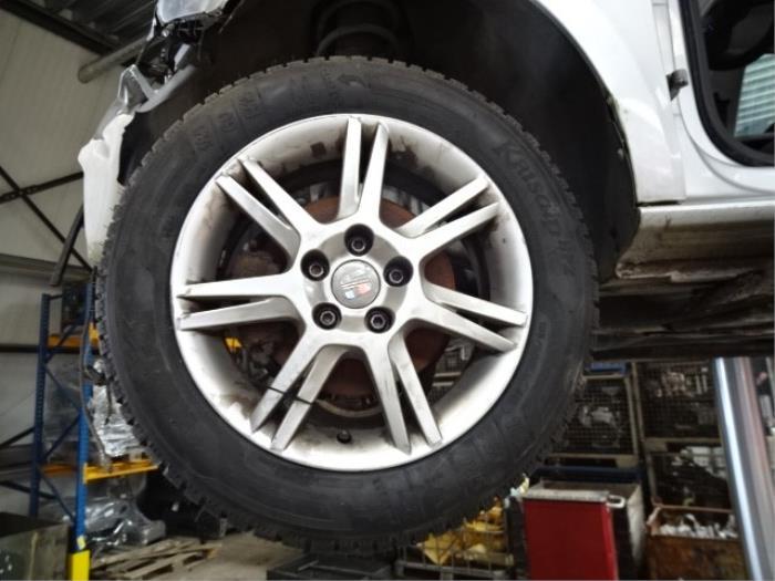Used Seat Ibiza Set Of Wheels Tyres 6j0601025h Alloy