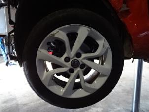 Used Opel Corsa Set Of Wheels Tyres 133806357 Alloy