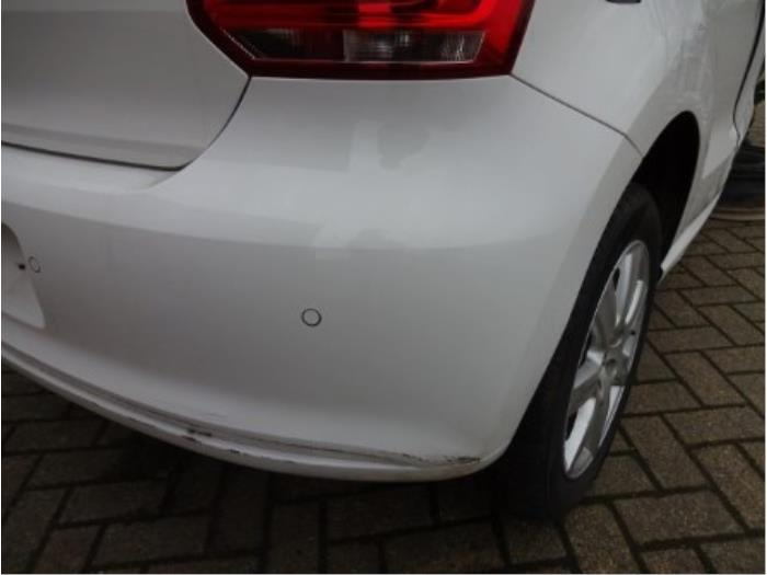 Rear bumper from a Volkswagen Polo 2014